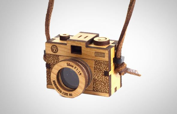 Wooden Camera Necklace | Gift idea for female photog and gadget ...