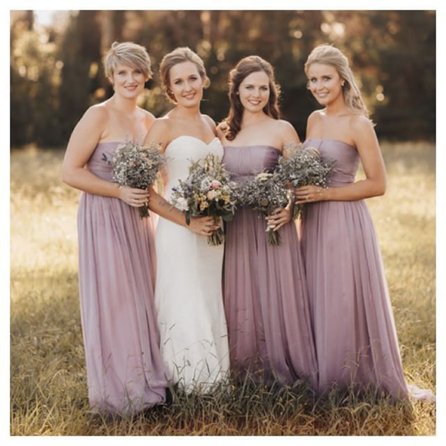 Warm Bridesmaid Dresses