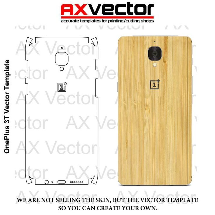 Nice OnePlus 3T Vector Template, Accurate Contour Cut for Skins or - check template