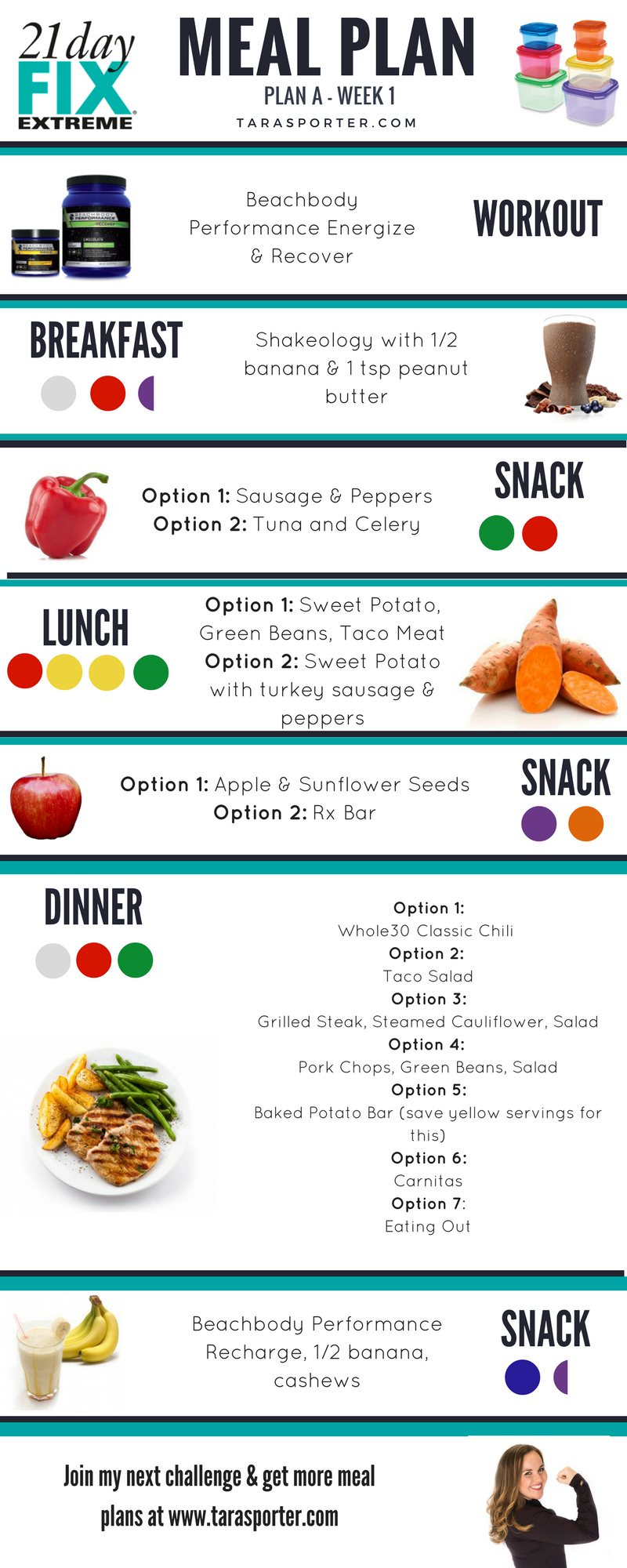 Idee Repas Jour De L An Pour 2.21 Day Fix Extreme Meal Ideas Meal Plan 21 Fix Day
