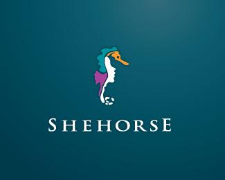 Logo Design Seahorses Logo Design Sea Logo Logo Design Inspiration