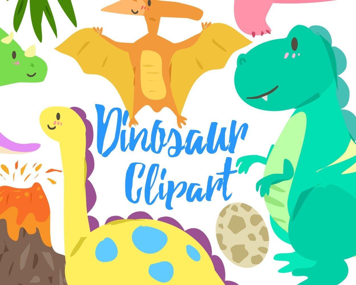 Cute Dinosaur Clipart Dino Clipart Dinosaur Clip Art For