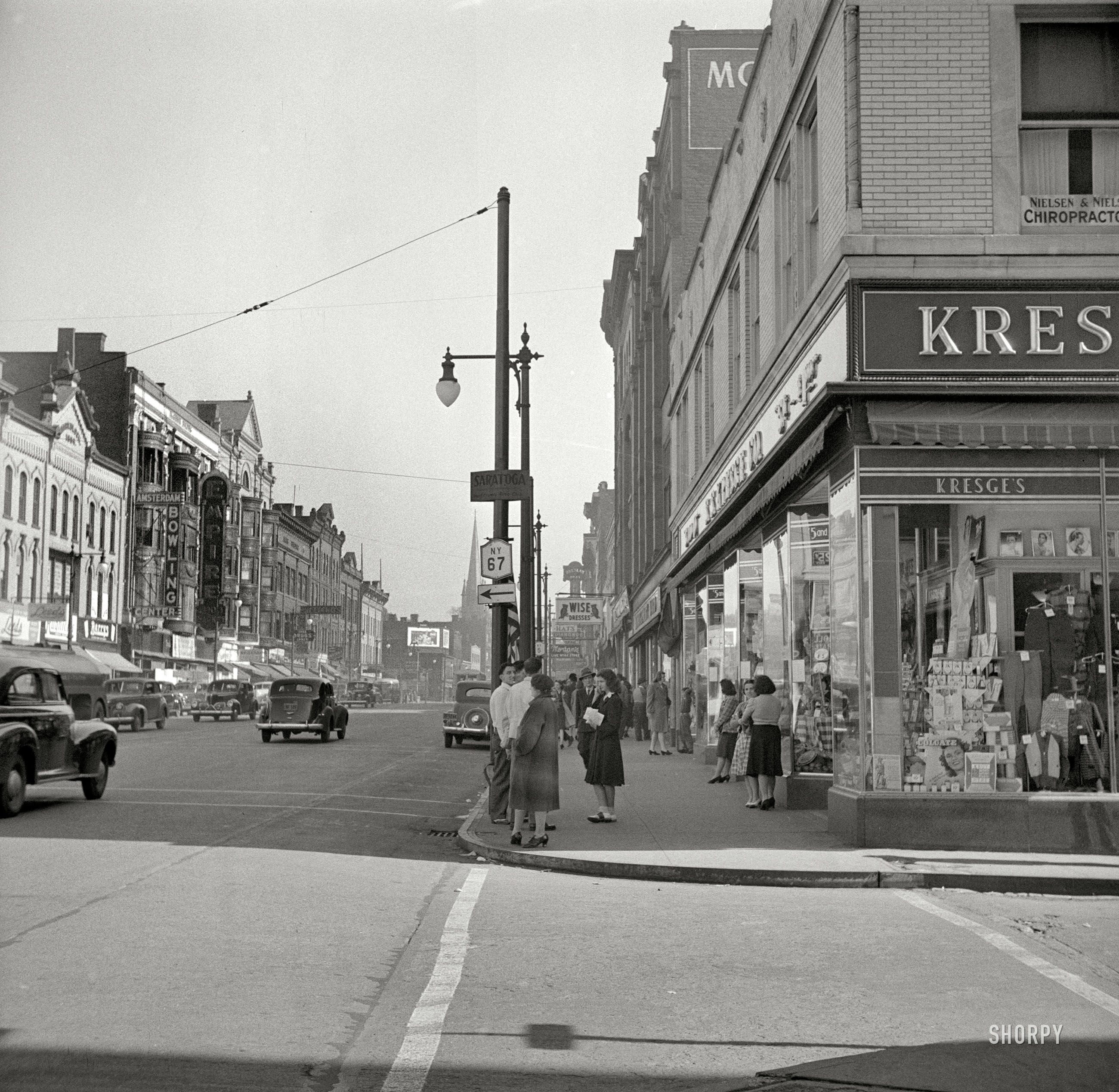 Shorpy Historical Photo Archive Street In Amsterdam New York