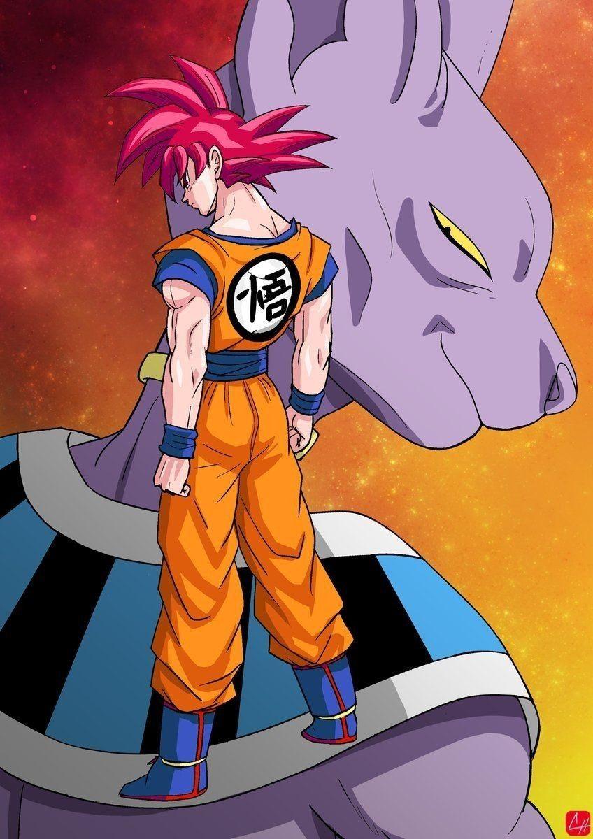 Poster Saga De La Batalla De Los Dioses Personajes De Dragon Ball Personajes De Anime Hombre Arana Animado
