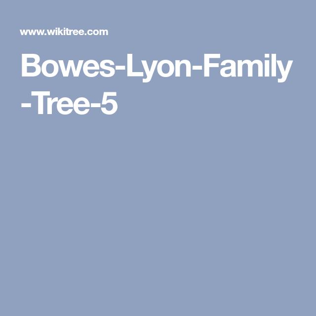 Bowes Lyon Family Tree 5 Lyon Family Family Tree Free Family Tree