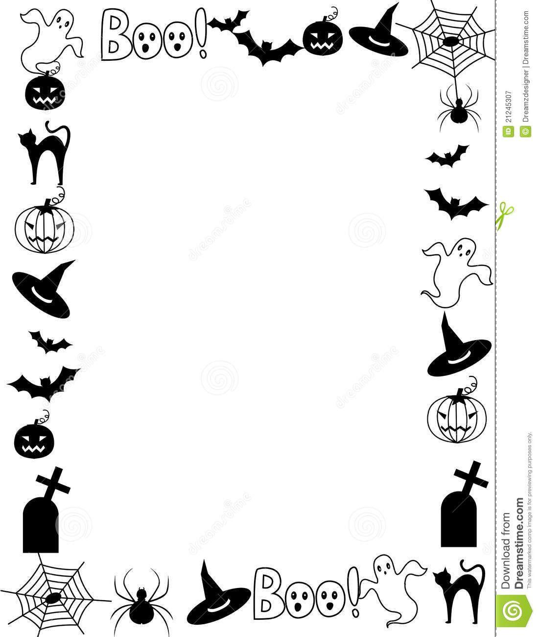 Halloween Frame Border