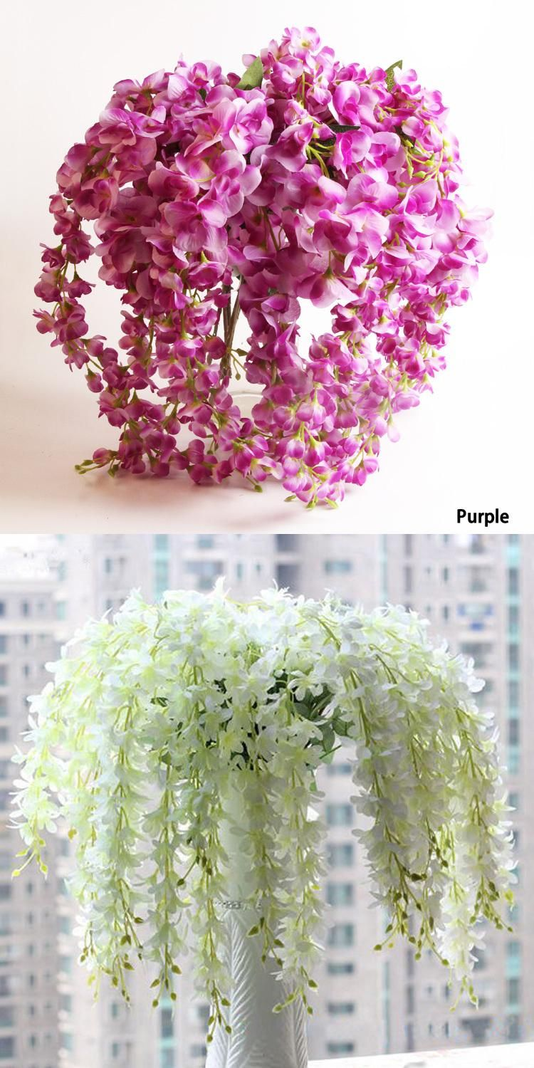Fashion home party wedding garden floral decoration romantic fashion home party wedding garden floral decoration romantic artificial wisteria silk flower mightylinksfo