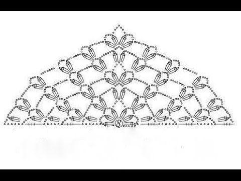 13. Tuch häkeln / Muster / Cloth Scarf - YouTube | Häkeln und ...