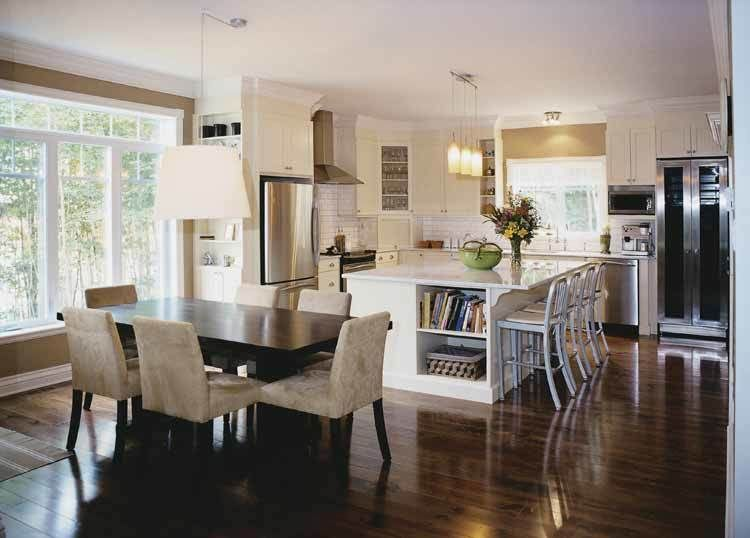 10 Floor Plans With Great Kitchens Country Style House Plans Kitchen Floor Plans Traditional House Plans