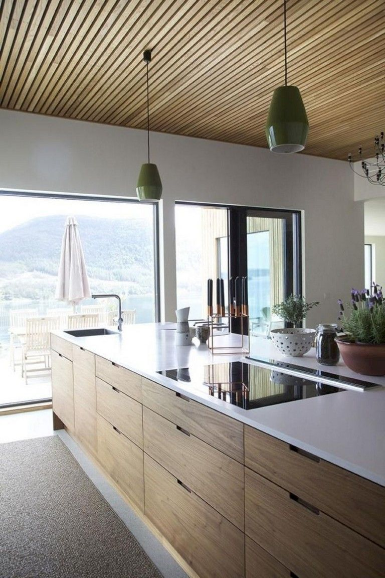 80 Amazing Modern Kitchen Design and Decor Ideas #rustickitchendesigns