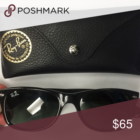 54f336dbd Ray Ban New Wayfarer Sunglasses Model code: RB2132 901 52-18 Ray-Ban New  Wayfarer Classic sunglasses used a few times. Ray-Ban Accessories Sunglasses