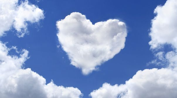 Image result for heart cloud