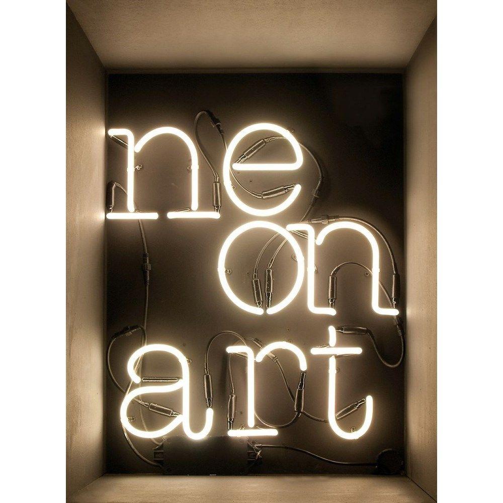 Seletti Neon letters / tekens O Verlichte letters