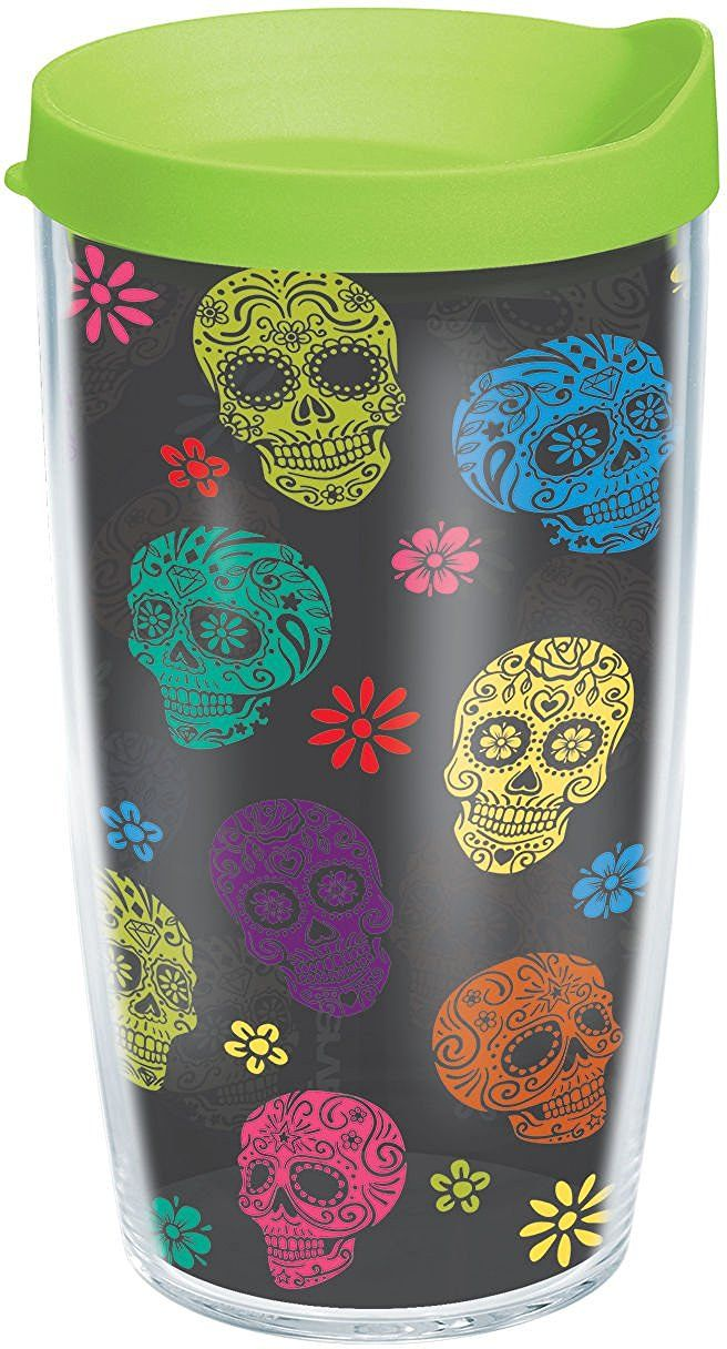 Tervis 16 oz. Day Of The Dead Travel Tumbler | Cute Clothing and ...