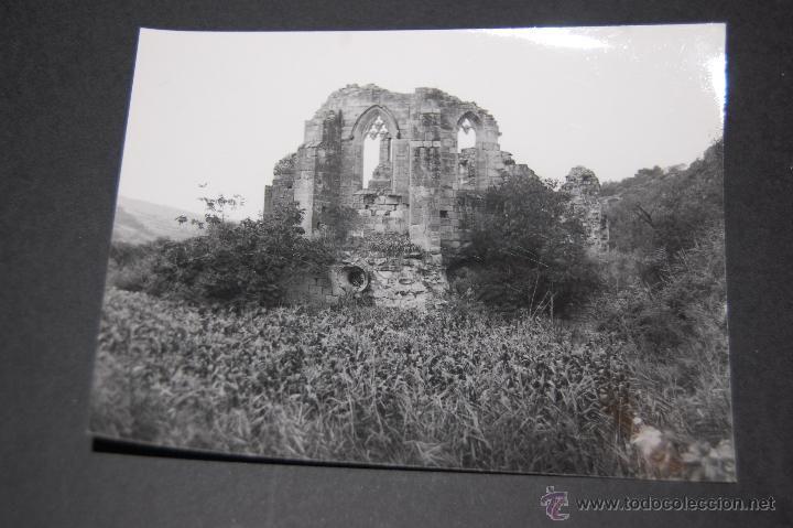 FOTOGRAFÍA DEL CONVENTO CONVENT A GIMERA 1966 ANTES DE SER REFORMADO 9 X 12