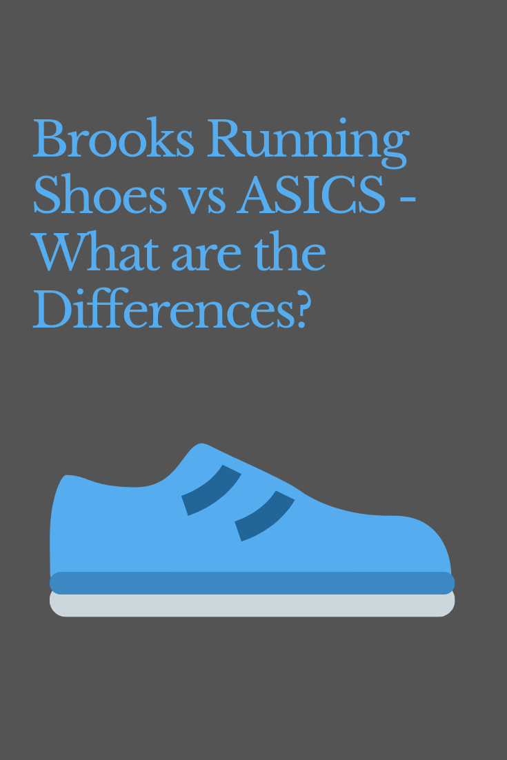 brooks ou asics