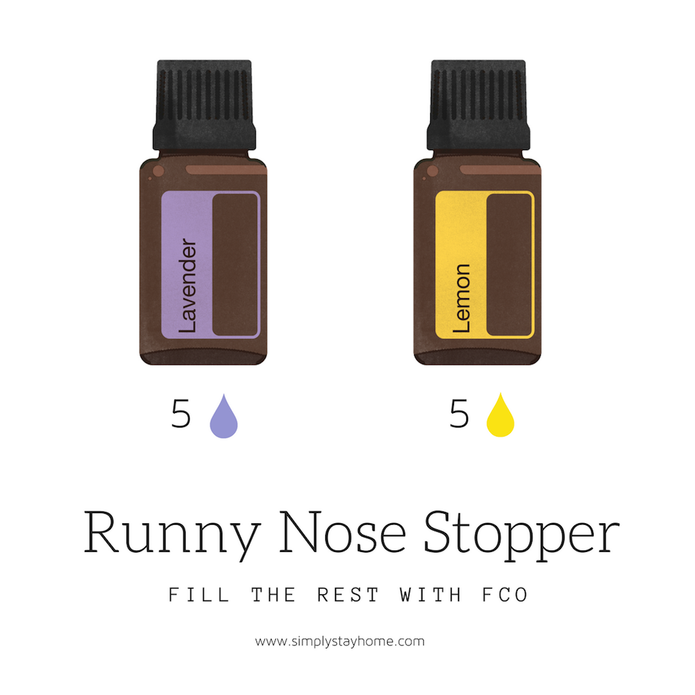 This Essential Oil Blend Helps Stop Those Runny Noses