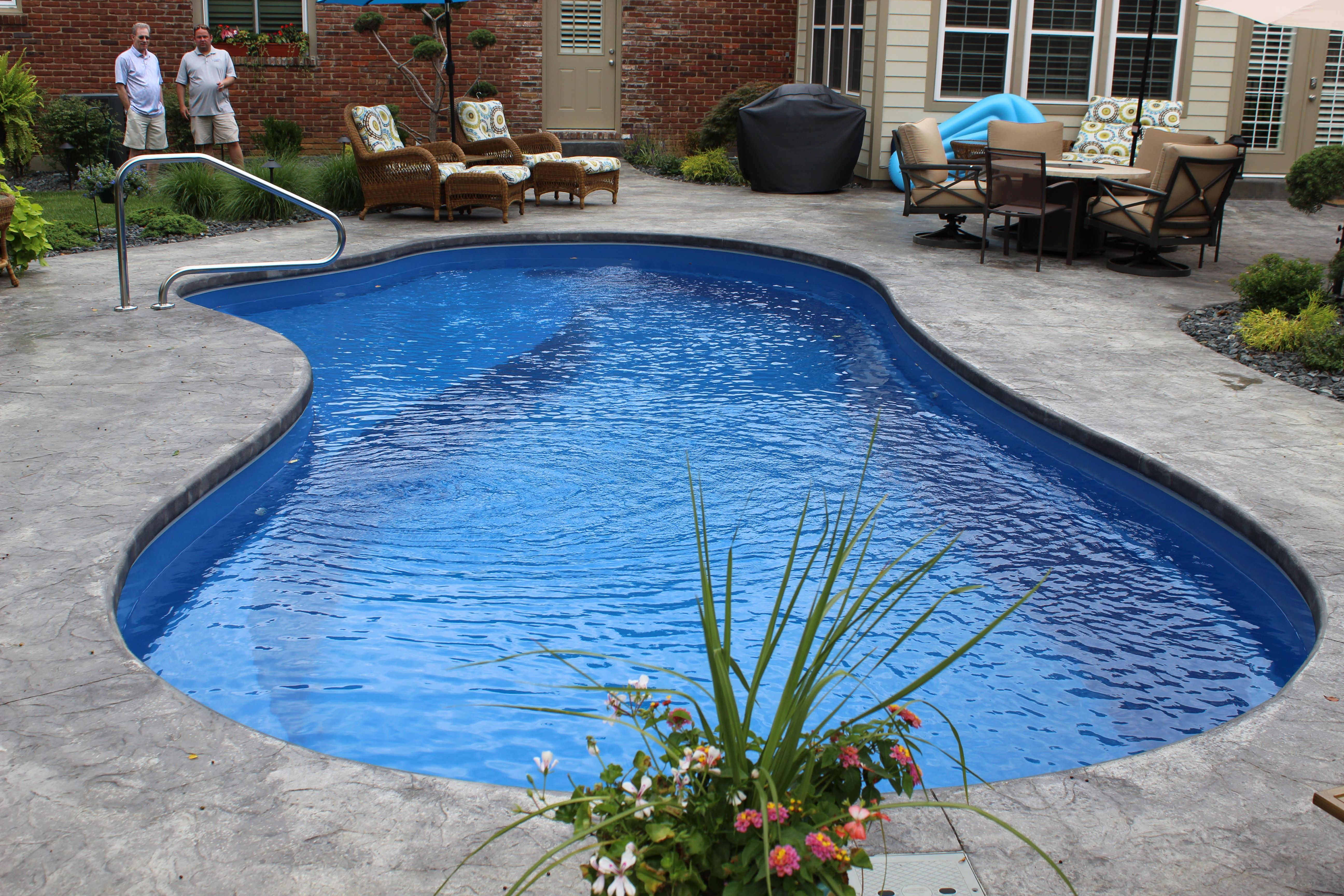 Imagine Pools The Inspiration Fiberglass Swimming Pools Pool Swimming Pools