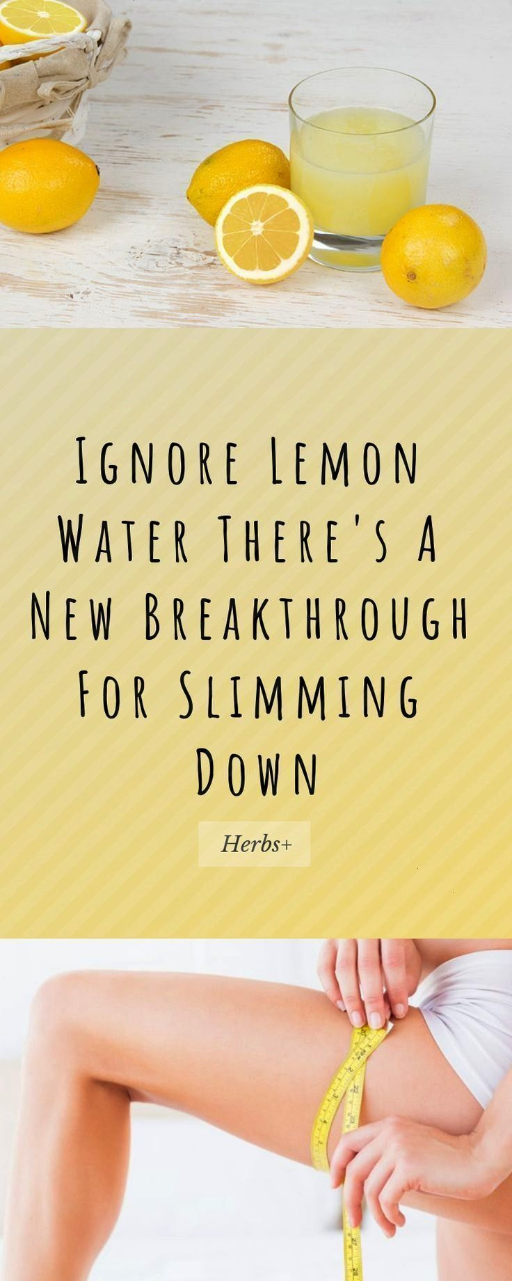 Lemon Water There's A New Breakthrough For Slimming Down   - Weight Los...- Ignore Lemon Water Th