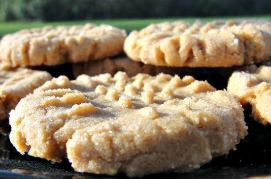 Bailey's Flourless Peanut Butter Cookies