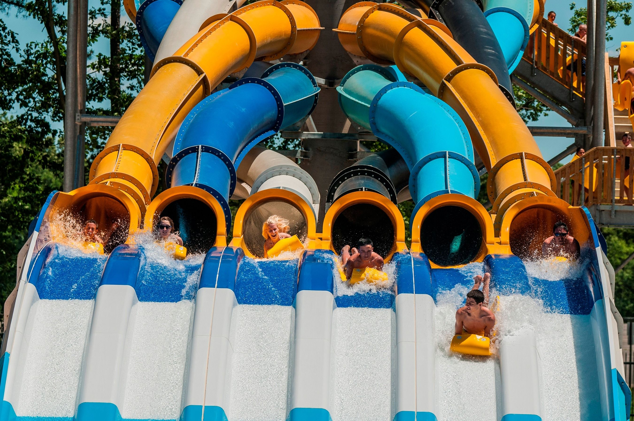 New Jersey Attractions Hurricane Harbor Six Flags Great Adventure Water Park
