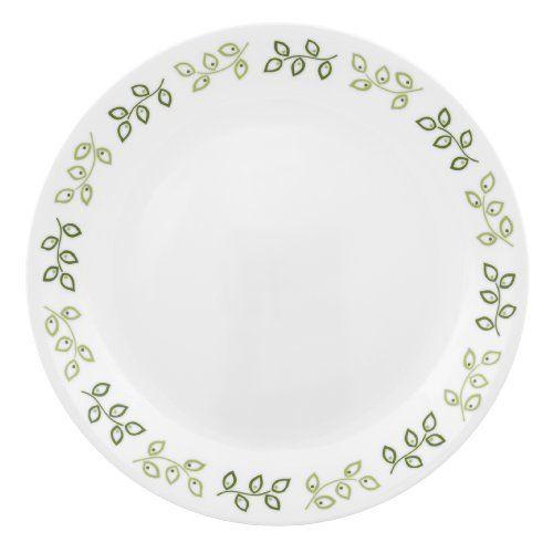 corelle contours new leaf 10 1 4 inch dinner plate by. Black Bedroom Furniture Sets. Home Design Ideas