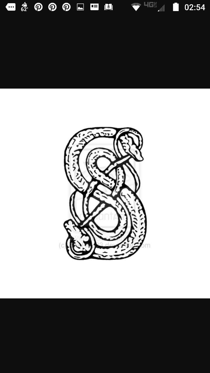 Symbol Of Loki Alex Fierros Tattoo Magnus Chase Pinterest
