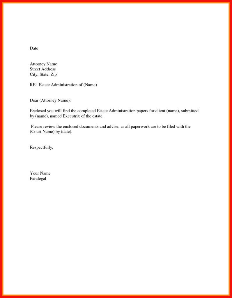 If you folks are looking for a simple cover letter example ...