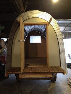Will Huts Such As The Conestoga Hut Be What Houses The Houseless In The Future Tiny House Blog Conestoga Tiny House Village