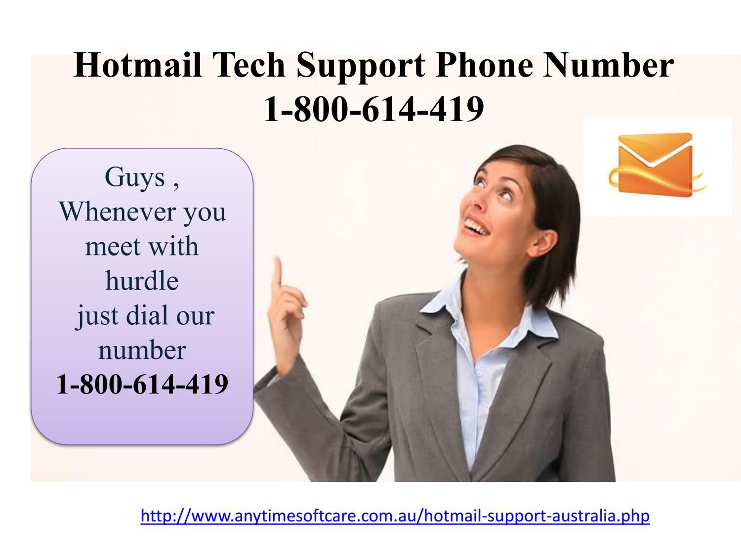 Give Us Call at Hotmail Tech Support Phone Number 1-800-614-419