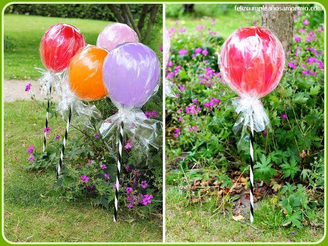Ideas de decoraci n para cumplea os con globos for Decoracion con globos para cumpleanos