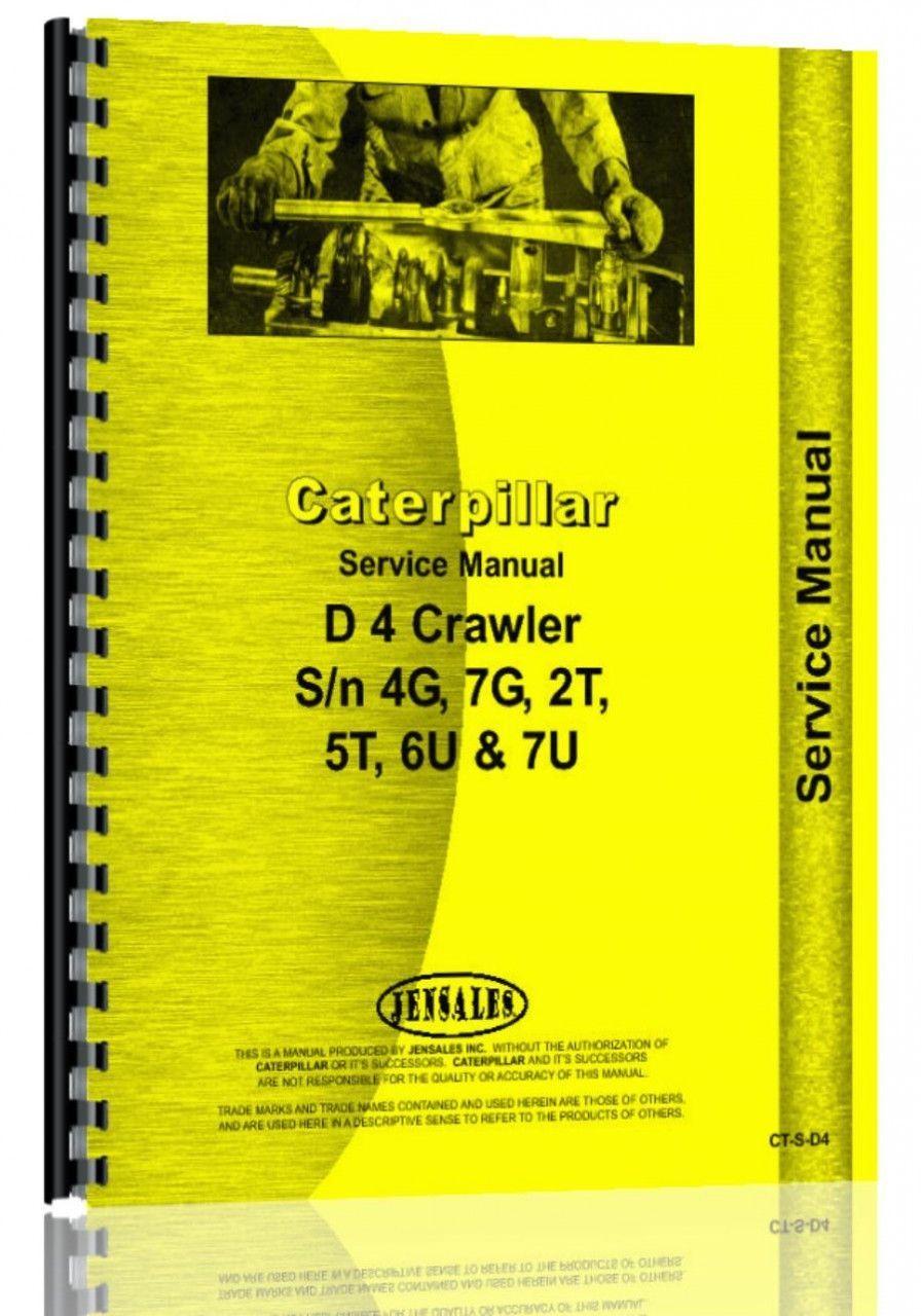caterpillar d4 crawler service manual products pinterest products rh pinterest co uk Caterpillar Dozer Cat Dozer Clip Art