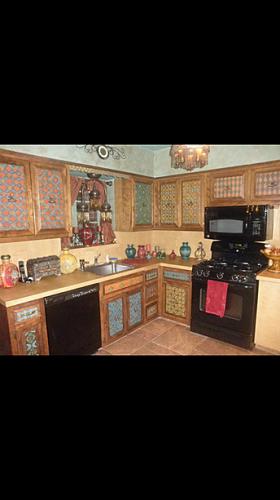 kitchen customization hand painted interior design decor murals