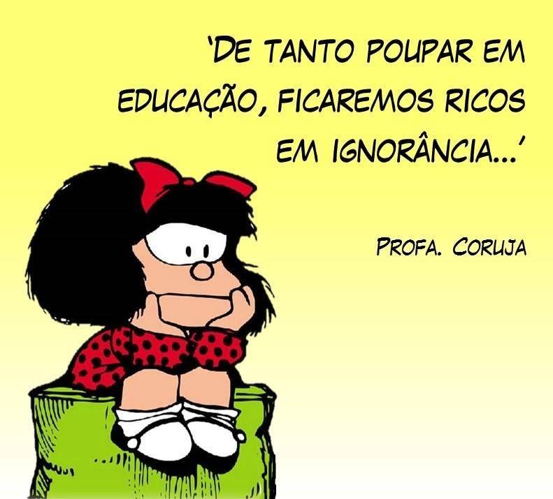 Humor Inteligente Mafalda Frases Motivacionais Frases