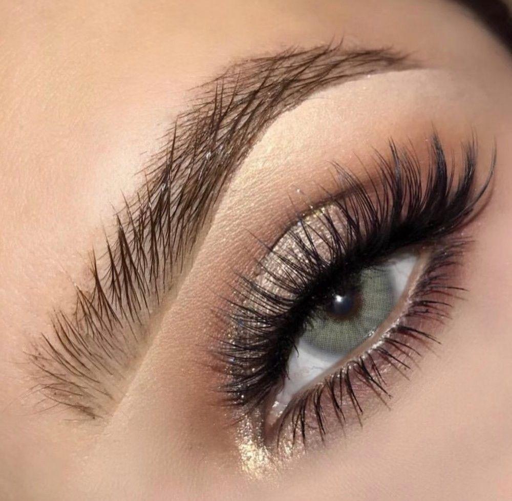 Colored lenses for dark eyes Hazel eye makeup, Blue eye