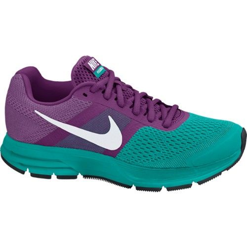 Women's Nike Pegasus+30 Running Shoes Purple Green | Sweatshop UK £60