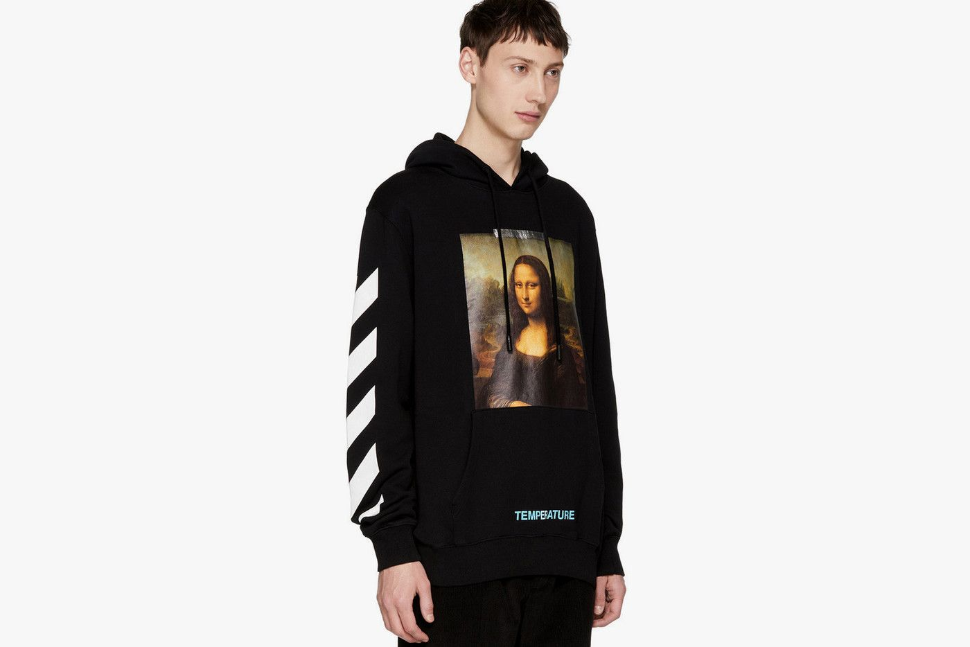 Off White Releases Ssense Exclusive Mona Lisa Hoodie Hoodies Off White Hoodie Hoodie Fashion [ 934 x 1400 Pixel ]