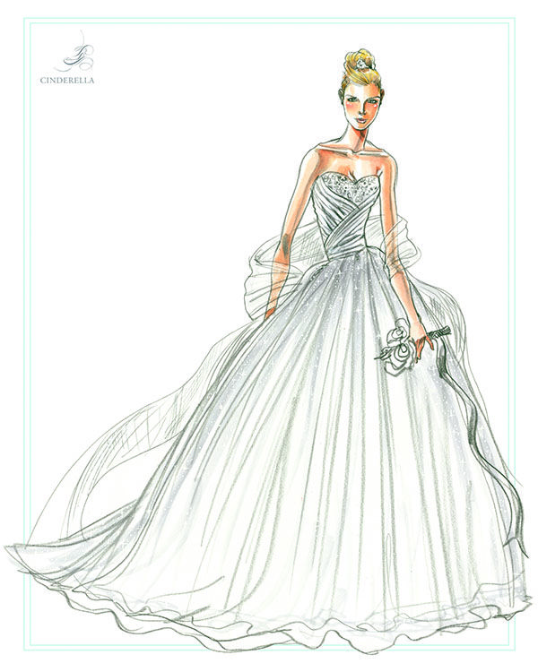 Ball Gown Sketches _Other dresses_dressesss