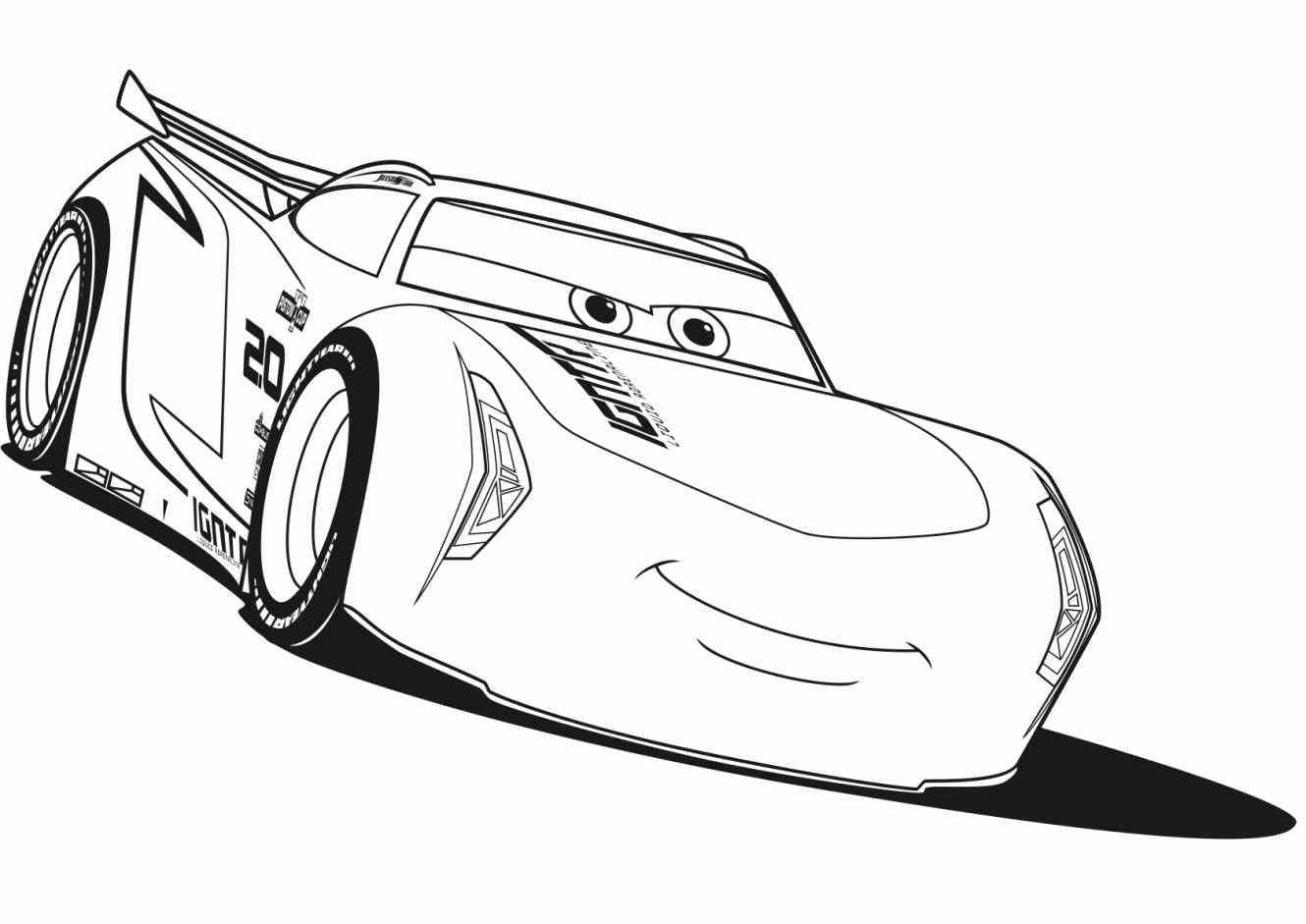 28 collection of jackson storm car coloring pages