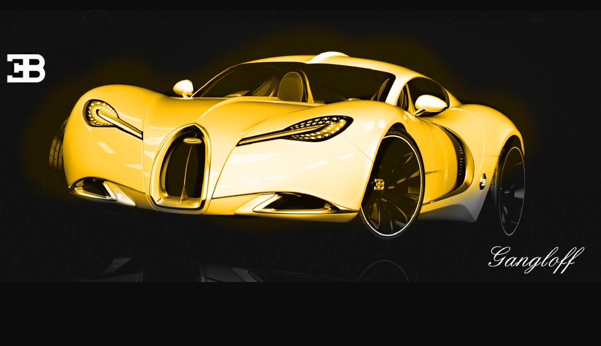 Bugatti gangloff concept bugatti sports car vehicles