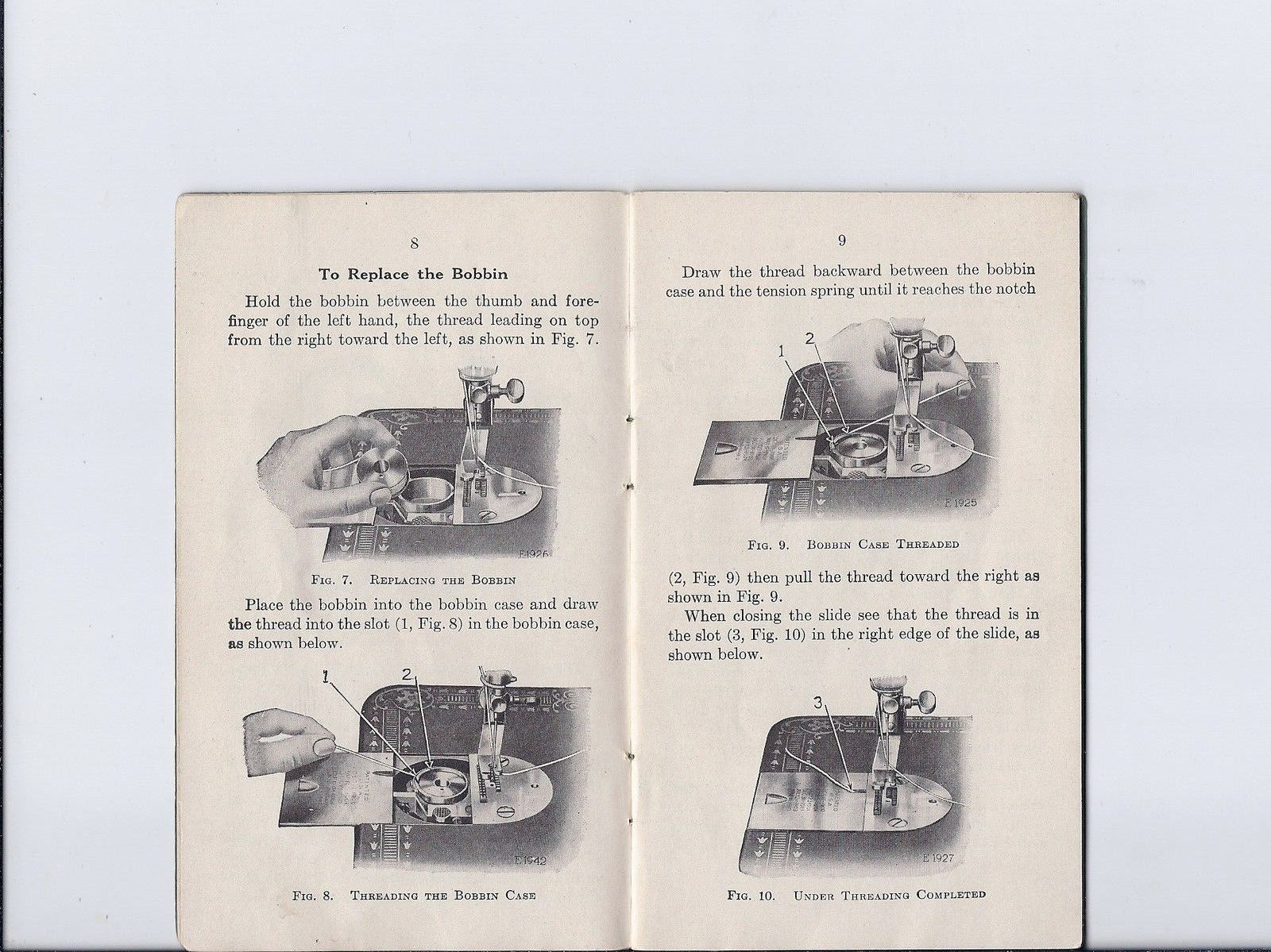 1916 Singer 'Redeye 66' Sewing Machine Instruction Manual Early Backclamp  Model | eBay