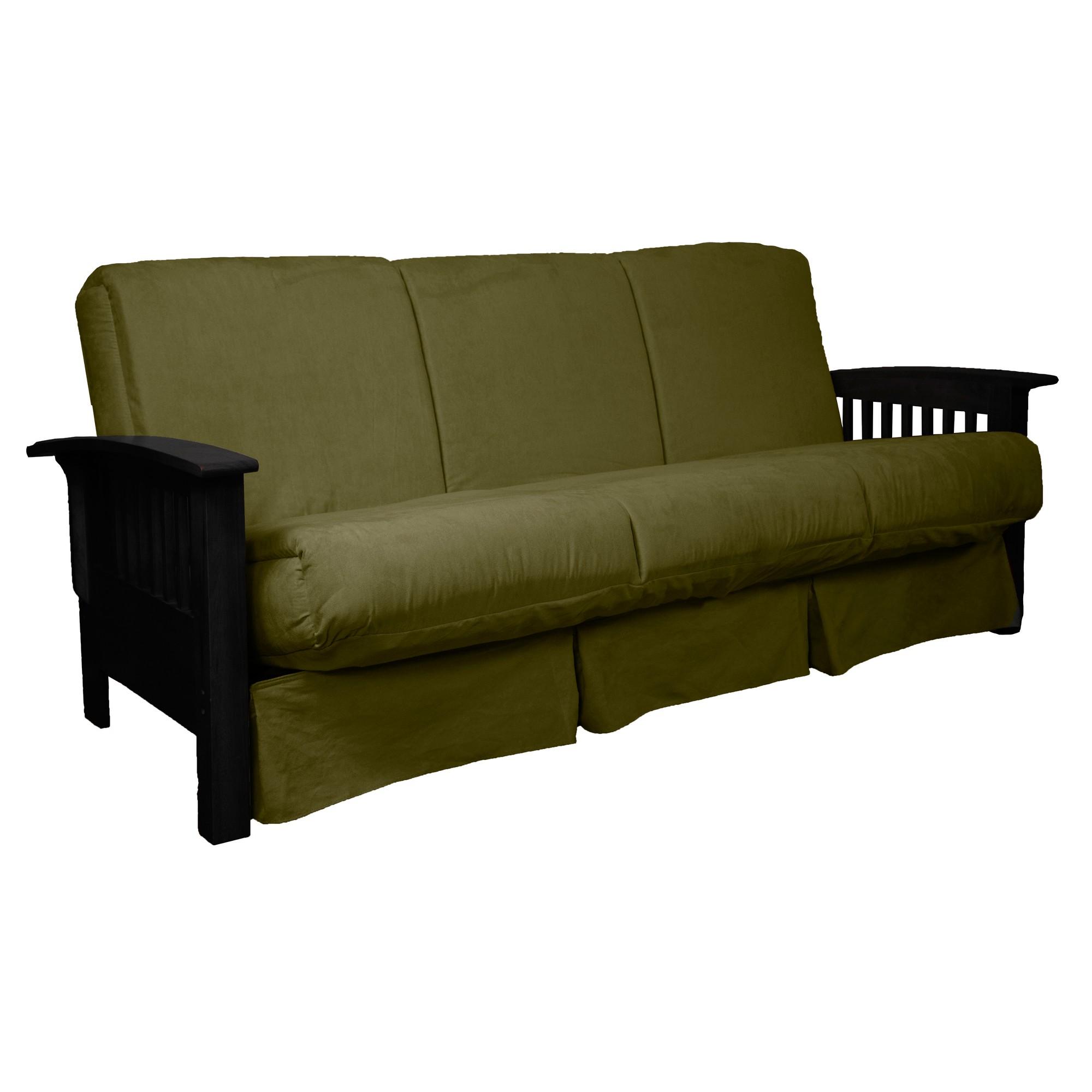 Fabulous Stickley Perfect Futon Sofa Sleeper Black Wood Finish Ncnpc Chair Design For Home Ncnpcorg