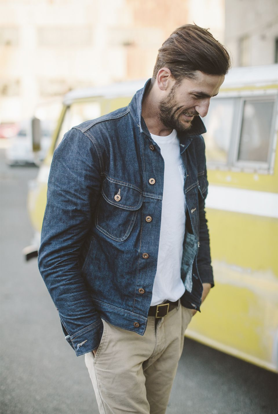 Denim Jacket Outfits Men