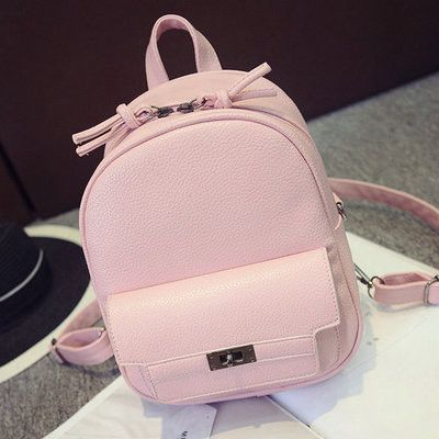 c14136ee4f LEFTSIDE Back Pack Women PU Leather Backpack For School Teens Girls Bags  Cool Small Bag Pack Women Multifunction Crossbody Bag