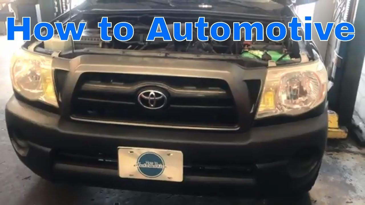 2005 Toyota Sequoia Fuel Filter Location How To Replace The Valve Cover Gasket On A Tacoma With 1280x720
