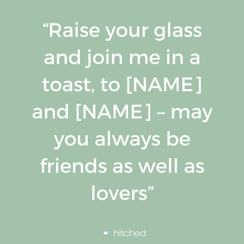 Best Man Toasts: 21 Ways to End Your Speech | our wedding