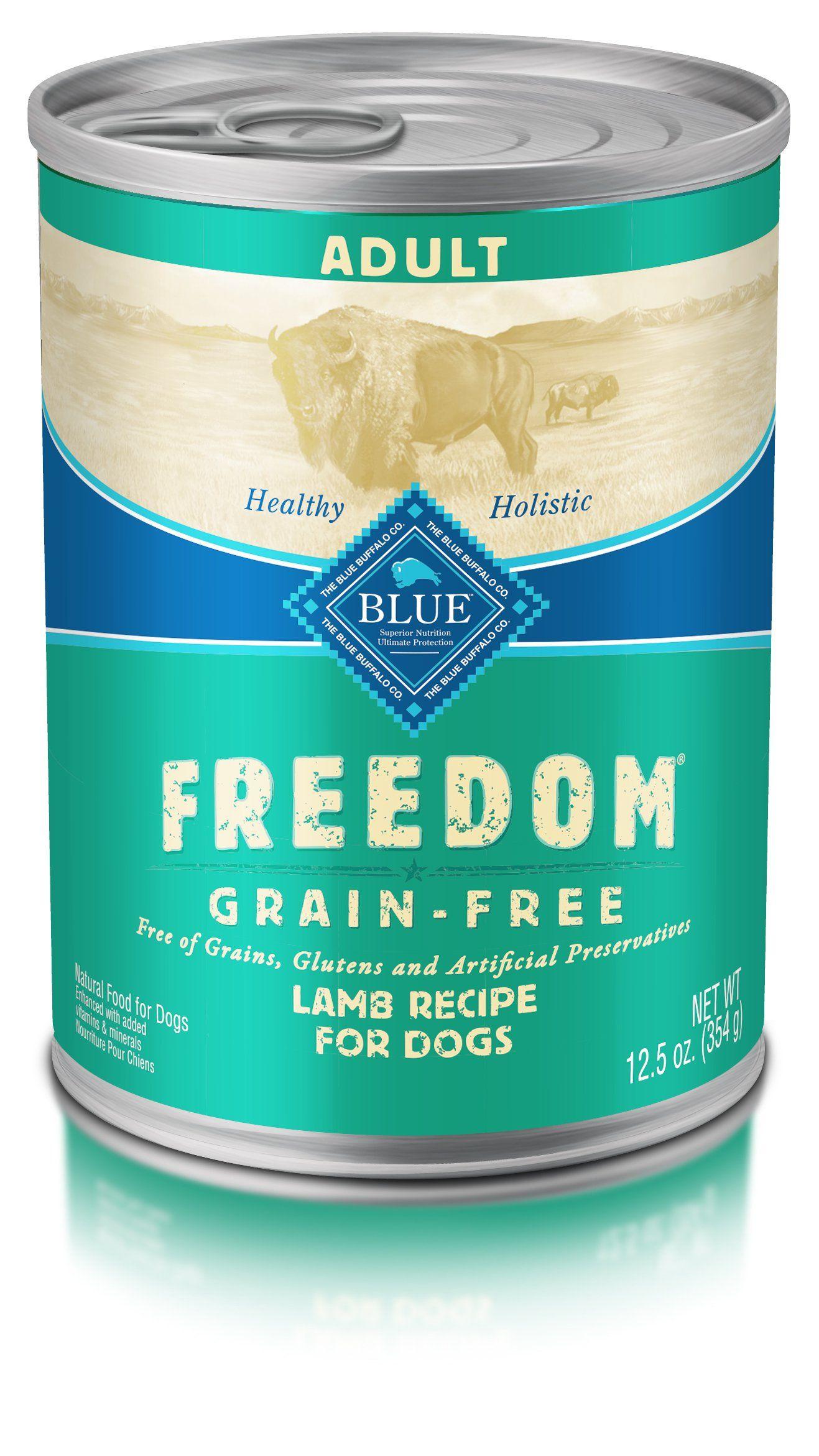 Blue Freedom Adult Grain Free Lamb Wet Dog Food 12 5oz Pack Of 12