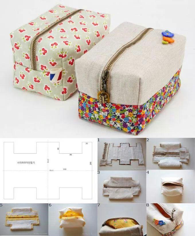 Boxy purse