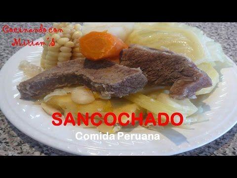 Sancochado un riquisimo y clasico plato peruano recetas para cocinar pinterest platos - Platos para cocinar ...