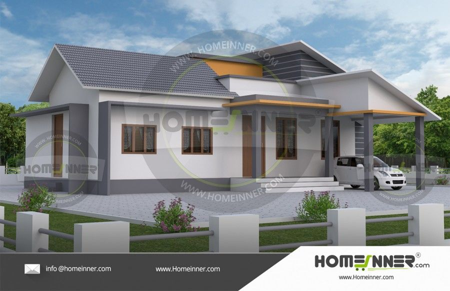 1000 Sq Ft 3bhk Indian House Exterior Modern Small House Design Unique House Design House Cost